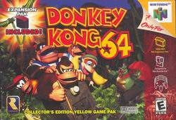 Donkey Kong 64 (USA) Box Scan
